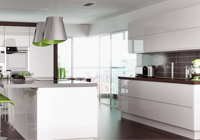 Lucente Handleless Gloss White