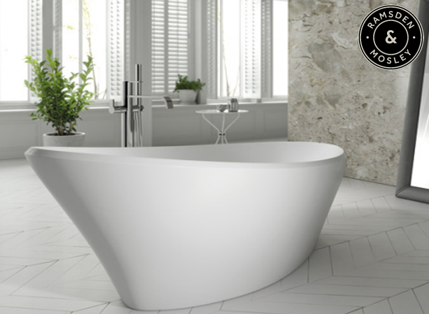 Buy now Ramsden and Mosley solid surface baths from Ramsden & Mosley