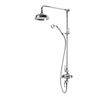 Tavistock Varsity Thermostatic Exposed Dual Function Shower Valve with Shower Head & Handset