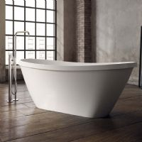 Arran 1700 x 710 Gloss Freestanding bath by Ramsden and Mosley