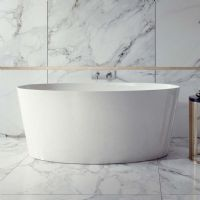 Bute 1600 x 720 Gloss Freestanding bath by Ramsden and Mosley