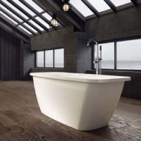Orkney 1700 x 700 Gloss Freestanding bath by Ramsden and Mosley