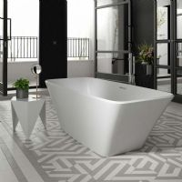 Anglesey double ended freestanding bath by Ramsden and Mosley